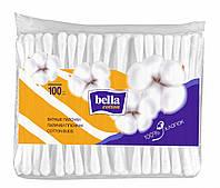 Ватные палочки bella cotton (полиэтиленовая упаковка), 100 шт.
