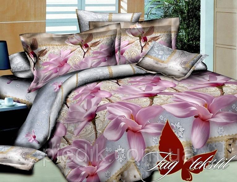 Семейное постельное белье Ранфорс TAG Офелия с компаньоном