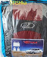 Чехли модельні  ВАЗ 2108-09 Колір: ЧЕРВОНИЙ