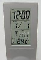 Часы - будильник с прозрачным ЖК - экраном