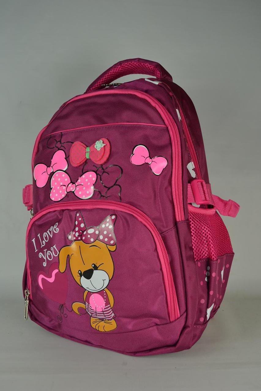 Рюкзаки школьные для девочек  6910-мт