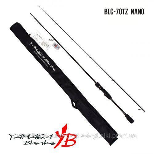 Удилище Yamaga Blanks Blue Current TZ BLC-70/Tz  NANO