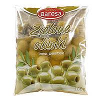 Оливки зеленые без косточки Baresa 160 г (шт.)