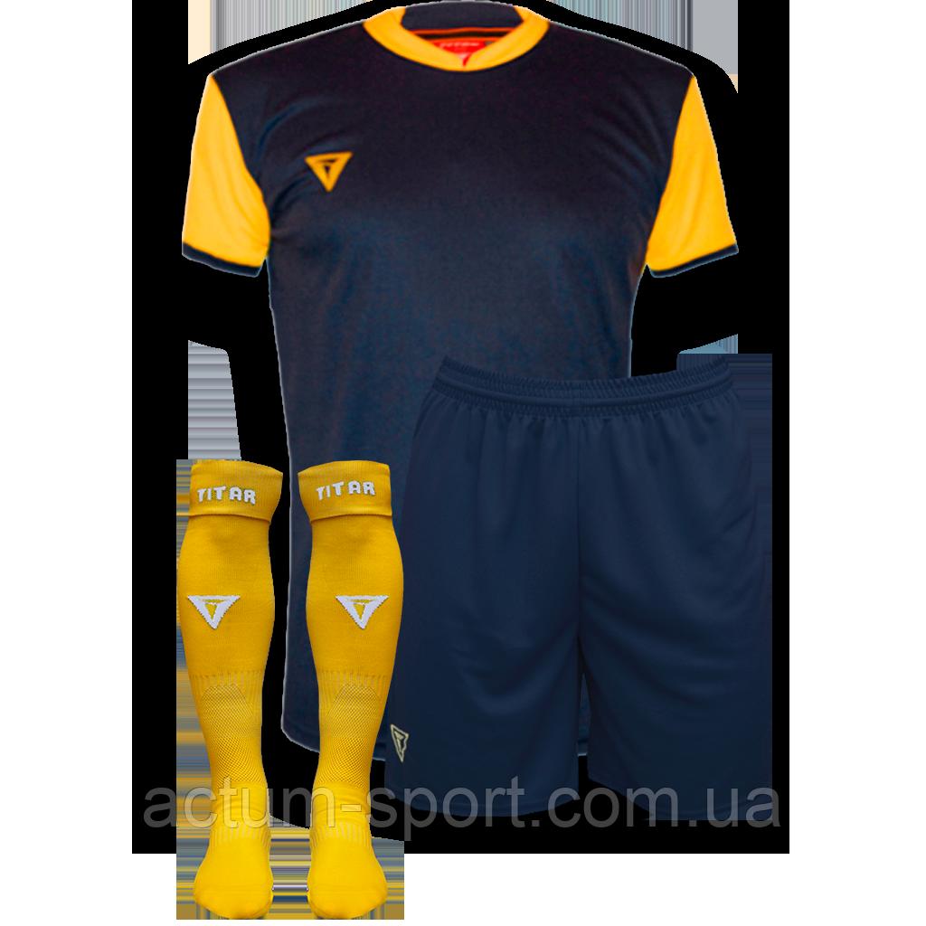 Футбольная форма Classic с гетрамит.сине/желтый 128