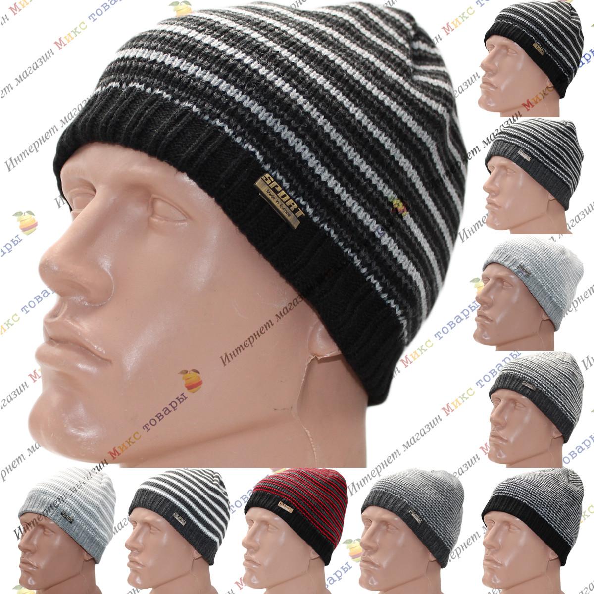 Мужские шапки с флисом