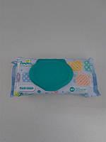Детские влажные салфетки с клапаном для новорожденных Pampers, 64 шт