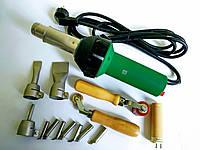 Профессиональный сварочный фен для сварки кровельной пвх мембаны, линолеума , пластика и бамперов RAYMA 1600