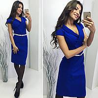 Платье женское электрик от YuLiYa Chumachenko