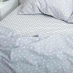 Семейный комплект постельного белья (2 пододеяльника) поплин, фото 2