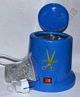 Стерилизатор кварцевый, шариковый для инструментов синий (пластиковый корпус)