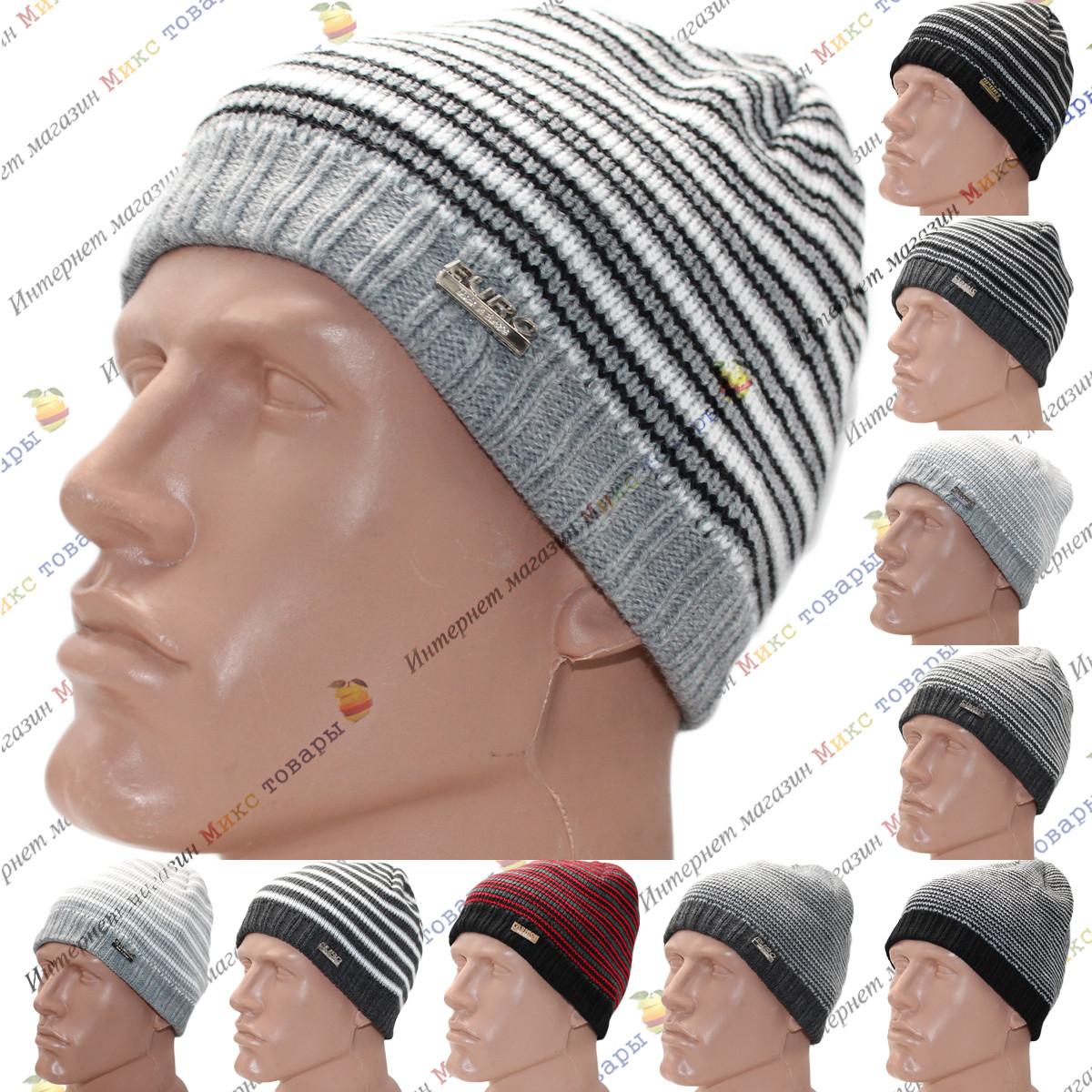 Тёплые мужские шапки с флисом