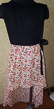 Дитяче плаття трикотаж і шифон