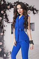 (S, M, L) Стильний синій брючний костюм Archer
