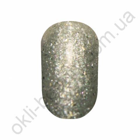 Гель-лак Tertio #175 (серебряный с блестками), 10 мл