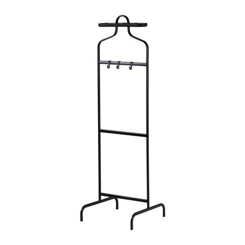 МУЛИГ Вешалка напольная, черный, 30233098, IKEA, ИКЕА, MULIG