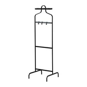 МУЛИГ Вешалка напольная, черный, 30233098, IKEA, ИКЕА, MULIG, фото 2