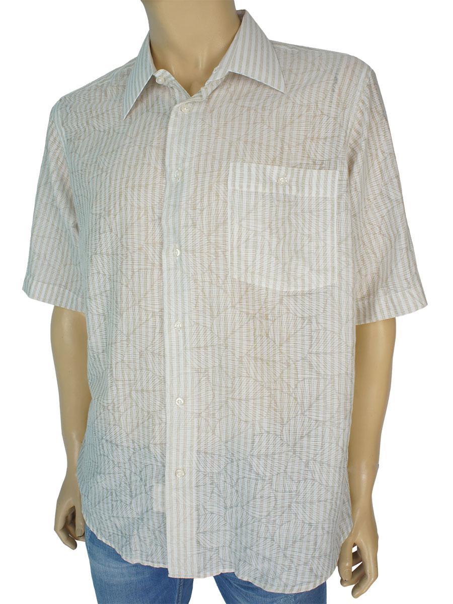 Летние мужские рубашки 0250 С размер L