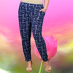 Женские лёгкие штаны султанки Jujube B209H Размер 48-54. (разные рисунки) ЛЖЛ-3043