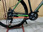 """Горный велосипед Kinetic Storm 27.5 дюймов 21"""" серо-зеленый, фото 7"""