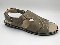 Мужские сандалиилетниекожаные,летняя мужская обувь от производителя модель ГЛ2