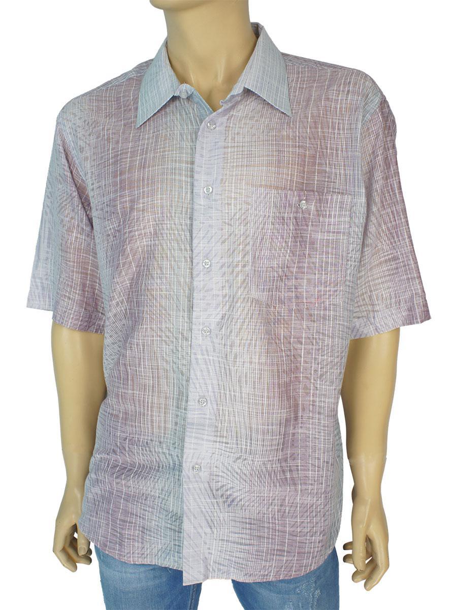 Мужские светлые рубашки 0250 С размер XL