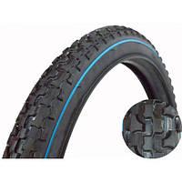 """Вело покрышка 20""""х2.125 (57-406) DSI/Deli Tire """"Шиповка с полосой"""""""