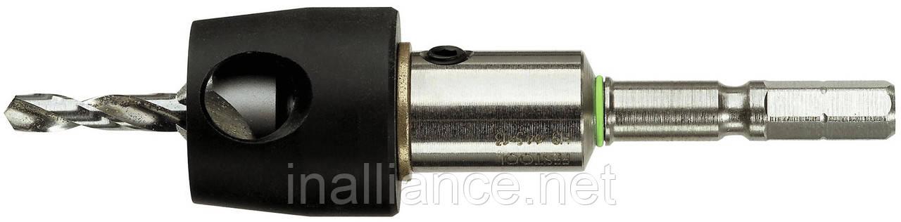 Сверло-зенкер 3,5 мм с ограничителем глубины сверления BTA Festool 492523