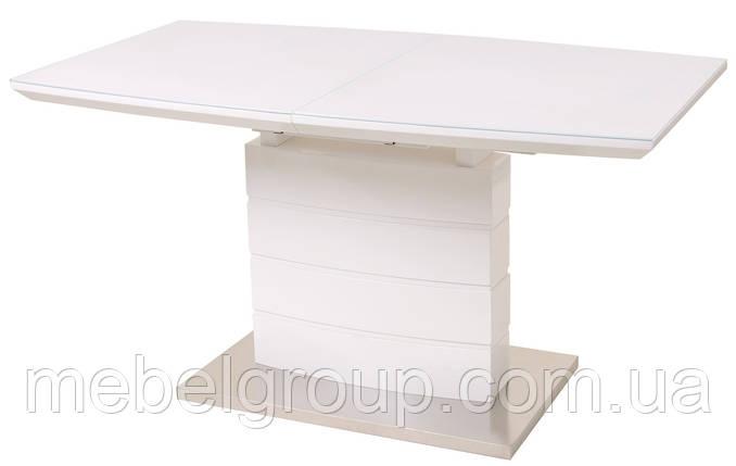 Стіл ТМ-50-2 білий 110/150x70, фото 2