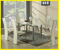 Обідній комплект меблів. Стіл + 6 крісел К94