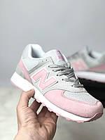 Женские кроссовки New Balance розовые, фото 1