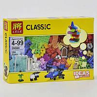 Конструктор аналог Lego Classic 250 деталей, в коробке. Детский игровой набор для мальчиков и девочек