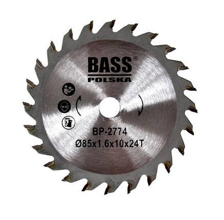 Твердосплавный диск 85 мм x 1.6 мм x 10 мм T24, фото 2