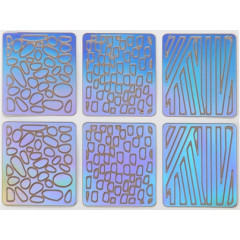 Трафареты для дизайна ногтей №19