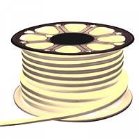 Светодиодный неон 220v теплый белый IP65