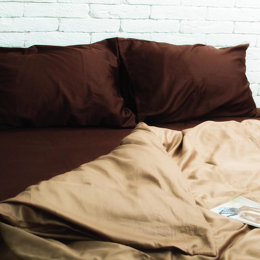 Семейный комплект постельного белья (2 пододеяльника) сатин. Акция: Бесплатная доставка!