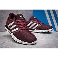 Мужские кроссовки Adidas Climacool бордовые / D15208