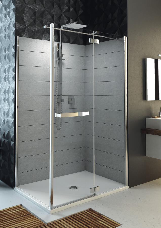 Aquaform HD COLLECTION: Стеклянная дверь в нишу или к стенке