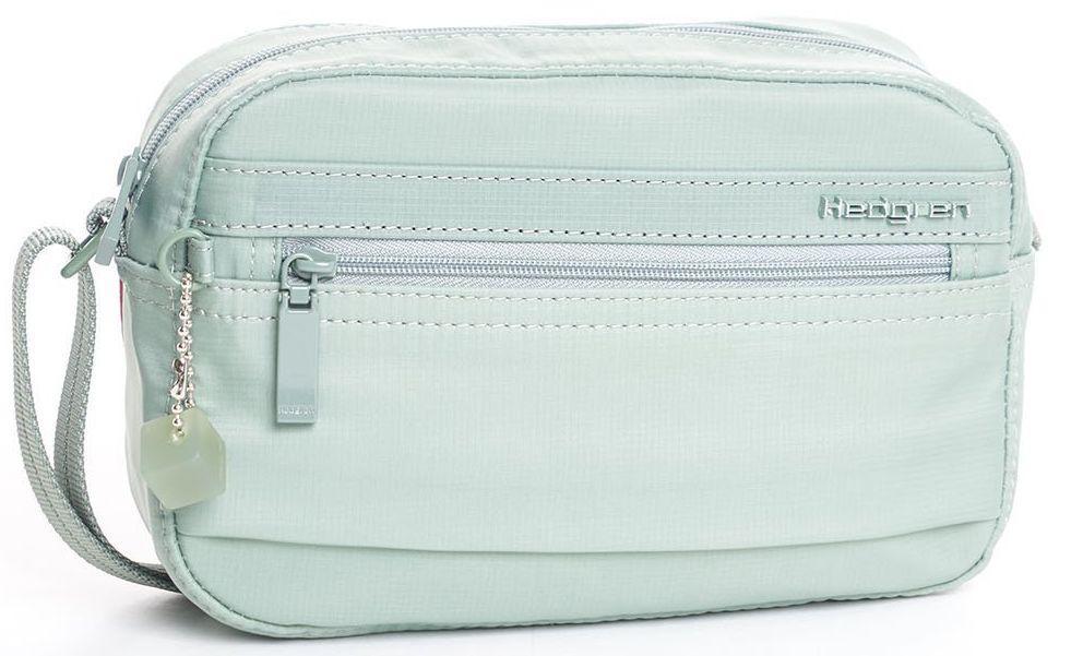 25d2550d36c3 Женская наплечная сумка из нейлона Hedgren Uno HIWO01/227, зеленый -  SUPERSUMKA интернет магазин