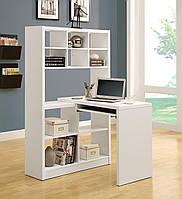 """Деревянный компьютерный стол """"Симпл"""" от производителя, фото 1"""