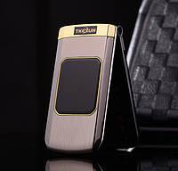 Телефон раскладушку(жапка)  M3 в металлическом корпусе 2sim