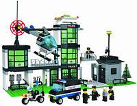 """Конструктор BRICK (LEGO) """"Полицейский участок"""" 430 деталей, 110/208883"""