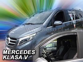 Дефлекторы окон (ветровики)   Mercedes Vito 447 2014 -> 2D  2шт (Heko)