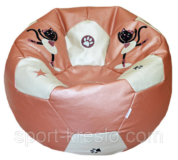 Бескаркасное кресло мяч мешок пуф