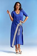 Оригинальное летнее женское платье большого размера  супер-батал   +цвета