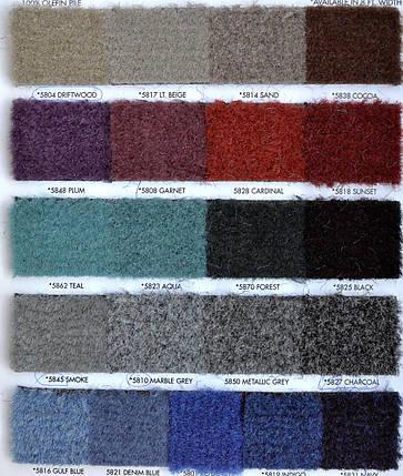 Стриженный ковролин палубный плотность 16 oz Aqua Turf Denim blue 1 м.п., фото 2