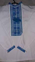 Сорочка  вишиванка на хлопчика на 6 років, довгий рукав