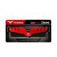 Модуль памяти для компьютера DDR4 16GB 2400 MHz T-Force Dark Red Team (TDRED416G2400HC15B01)