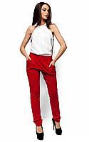 (S, M, L) Молодіжні червоні брюки Milfor