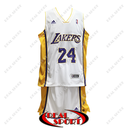 Баскетбольная форма НБА Лос-Анджелес Лейкерс, Коби Брайант №24, белая