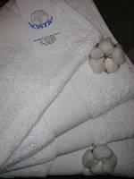 Махровое полотенце 40Х80 белое 500